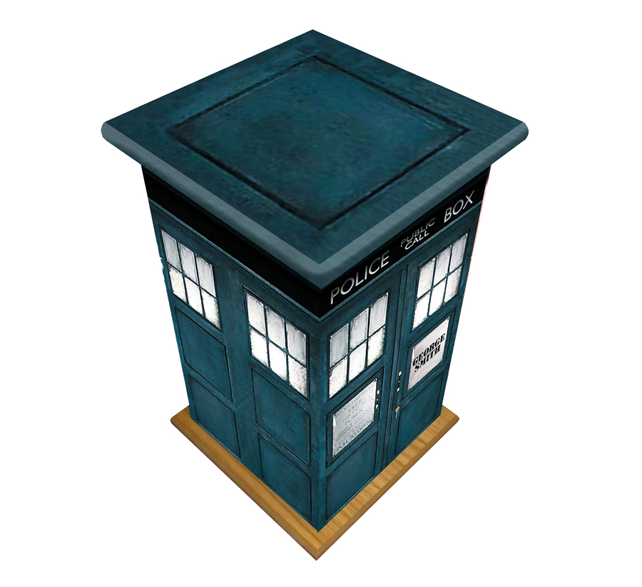 Personal Picture Casket- Police Box