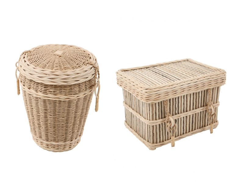Natural Woven Caskets and Urns for ashes- Loom Urn & Cocostick Casket