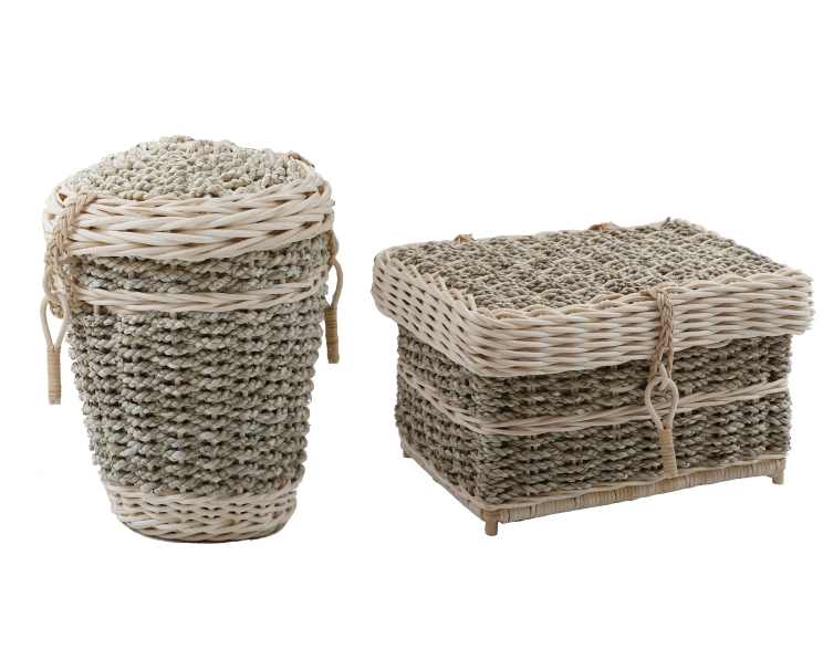 Natural Woven Caskets and Urns for ashes - Seagrass